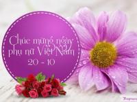 Thư chúc mừng Ngày Phụ nữ Việt Nam 20/10/2021
