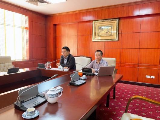 Hội nghị trực tuyến bình giảng rút kinh nghiệm công tác an toàn bay