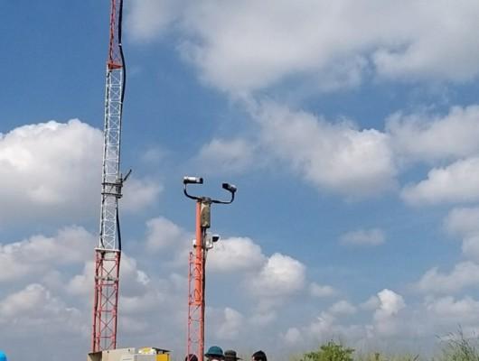 Di dời hệ thống quan trắc khí tượng tự động AWOS tại Cảng hàng không quốc tế Tân Sơn Nhất