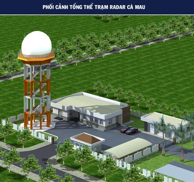 Thông tin báo chí: Khởi công xây dựng Trạm Radar thứ cấp Cà Mau thứ 2