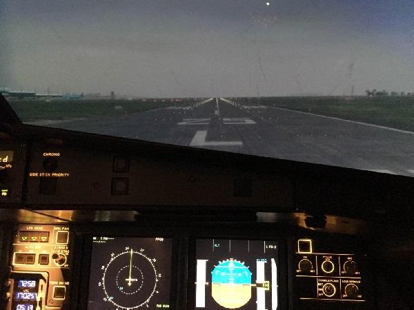 Bay kiểm tra các phương thức bay SIDs/STARs RNAV1 Tân Sơn Nhất trên hệ thống buồng lái mô phỏng